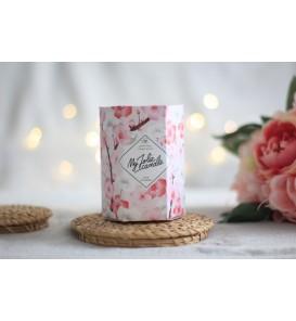 Fleuriste Leloup-Bougie bijoux - Fleur de Cerisier (b-a)