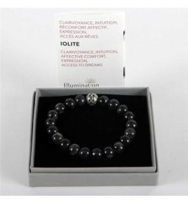 Fleuriste Leloup-Iolite de 8mm/Taille 1 - Lithothérapie Bracelet