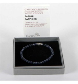 4.5mm faceted sapphire /...